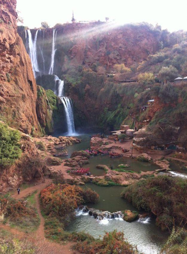 Waterfalls Atlas Mountains