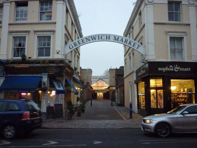 London Food Markets Greenwich Market