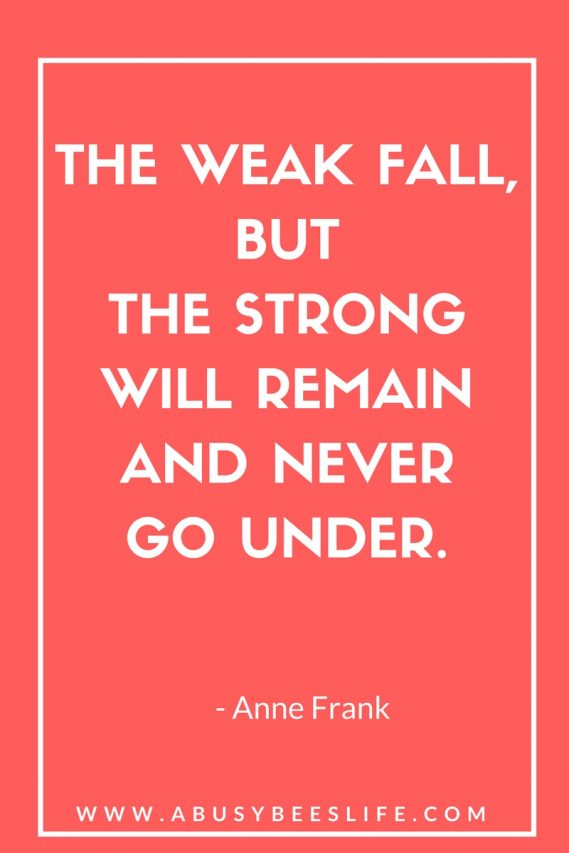 anne frank quote for a busy bees life motivational quotes and pins