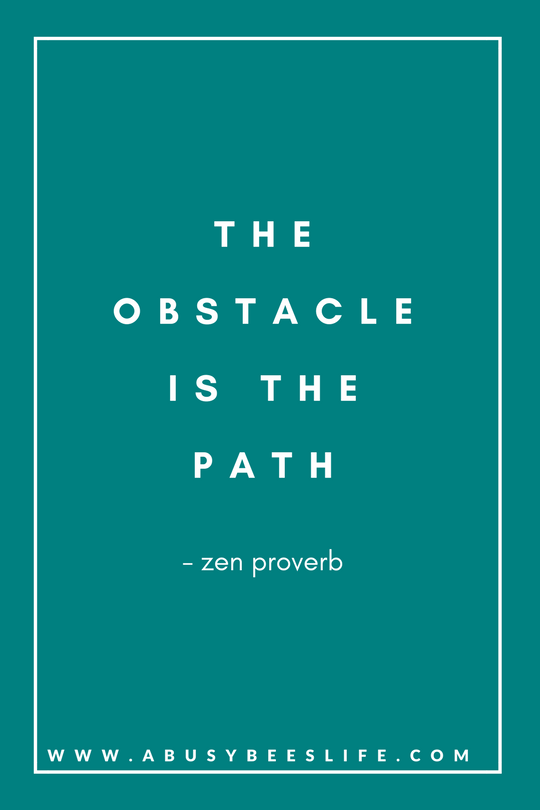 motivational quotes obstacle
