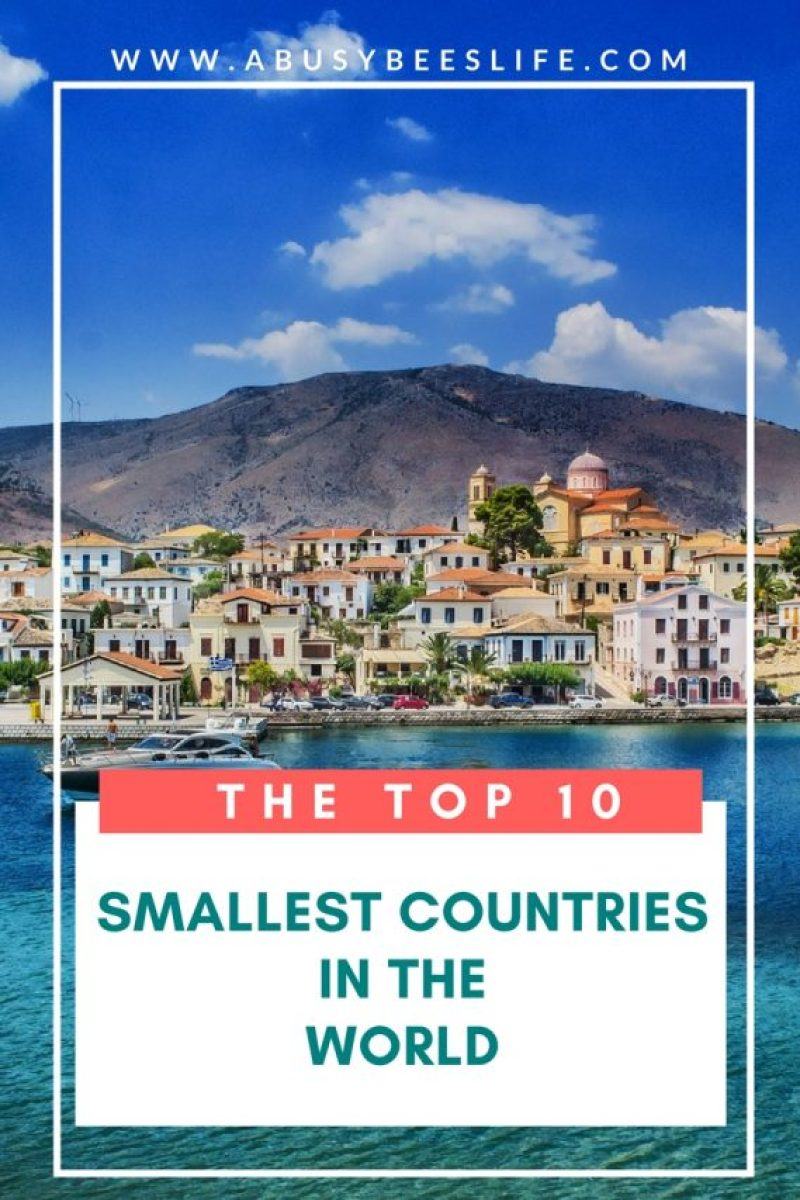 Want to travel to a place that is intriguing? A cozy nation or island? I want to visit #3 and #8. Check out this list of the top ten smallest countries in the world!