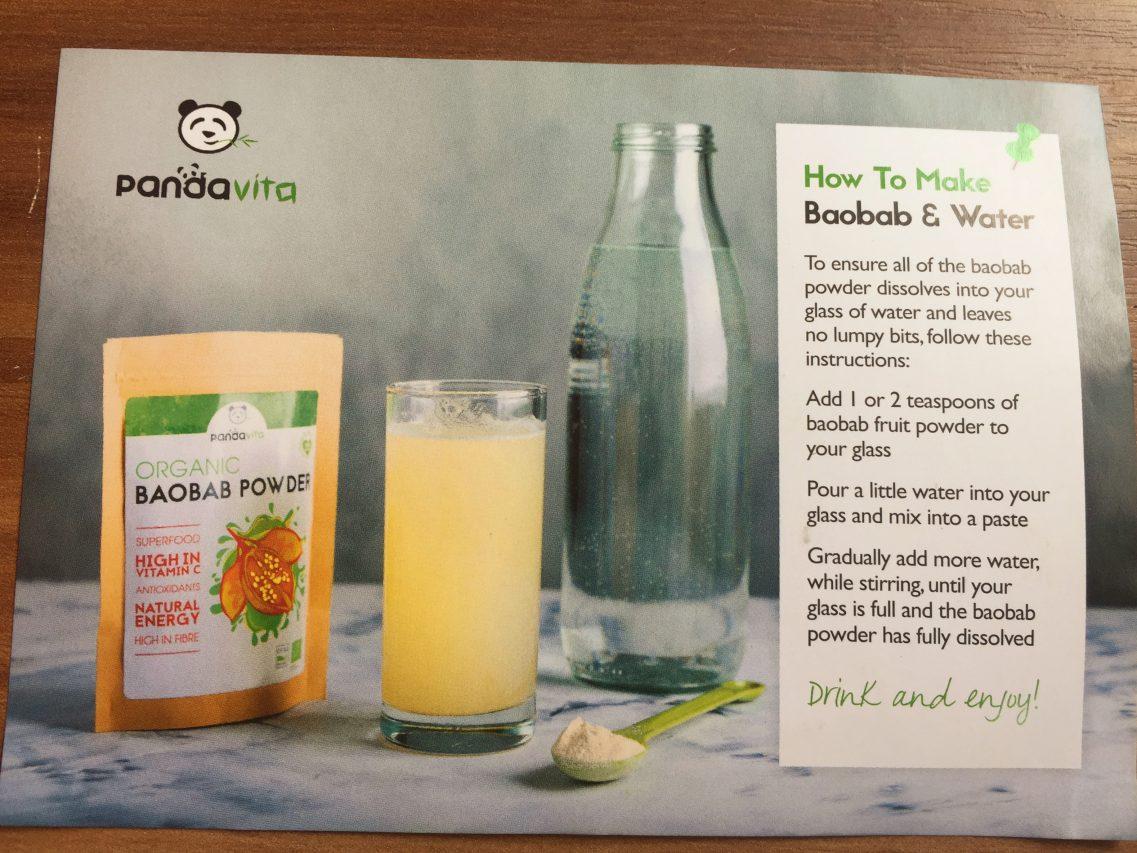 Baobab Powder Recipe Two