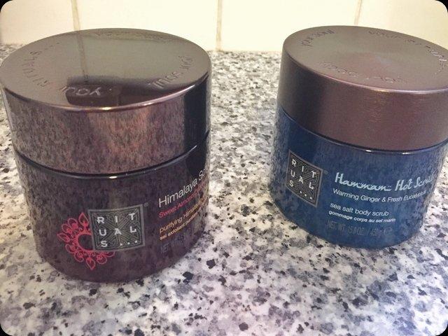 rituals body scrubs review abbl package hammam and himalaya scrub