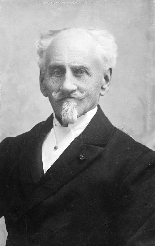 Franz Sacher-The creator of the original Sacher Torte.