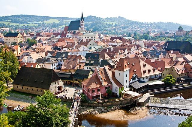 Czech Republic-Cesky Krumlov, Europe