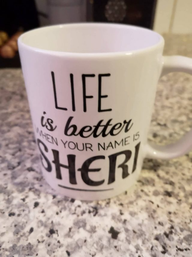 Coffee mugs, customized coffee mug, abusybeeslife, Sheri mug, Best Gifts for Coffee Lovers, All Under $15!