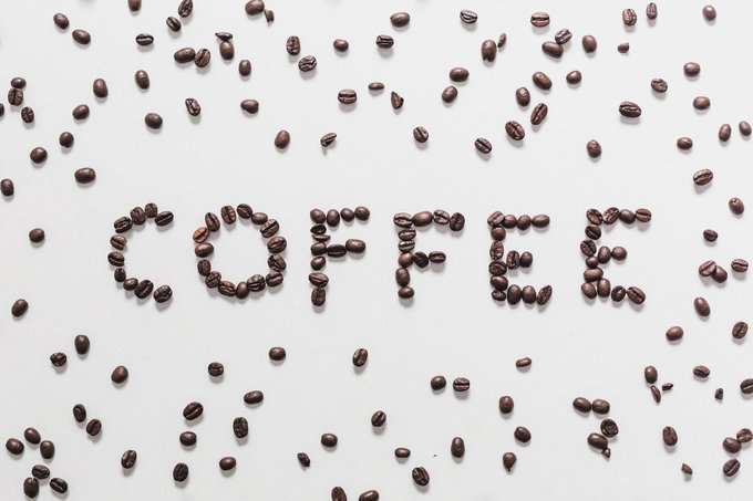 coffee, coffee on table, word coffee written out with coffee beans, abusybeeslife, Assorted hot beverages, coffee, macha, tea and coffee, abusybeeslife, Kickstart Your Day With Coffee