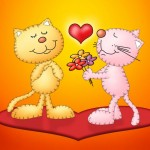 Cats Valentine Day