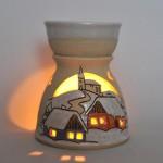 Photograph pottery ceramics oil burner