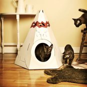cat playhouse tepee suck uk