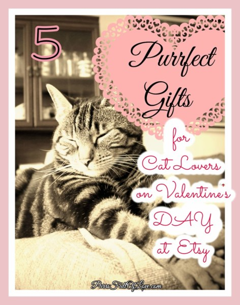Etsy Cat Lover's Gifts
