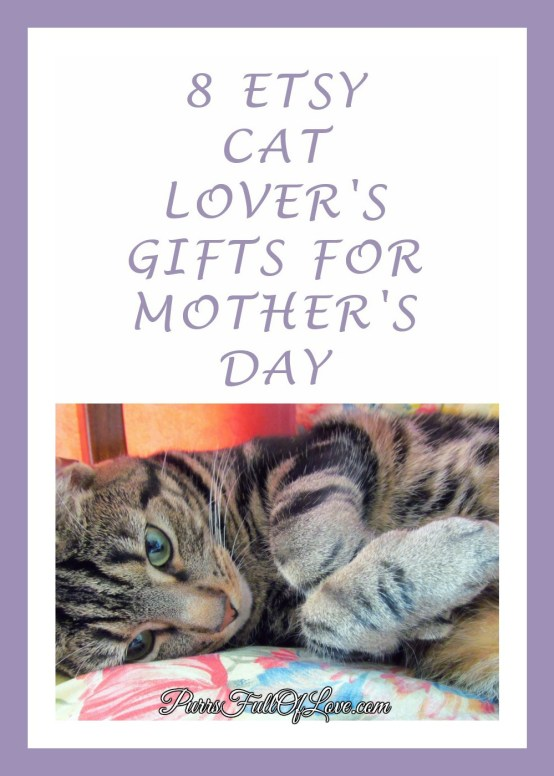8 Etsy Cat Lover's Gifts for Mother's Day