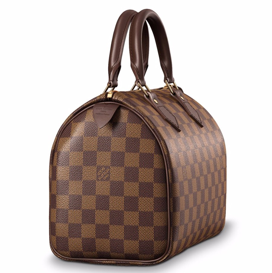 Louis Vuitton Speedy 25 Zijaanzicht
