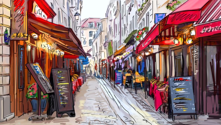 paris shops street - Waar in de wereld kun je de meest populaire designer tassen kopen voor de laagste prijs?We hebben het uitgezocht voor je