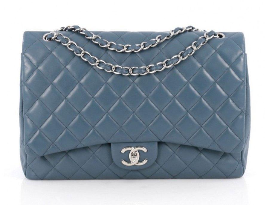 Chanel Flap Bag Blue - De ultieme handleiding voor het kopen van Chanel Tassen Online