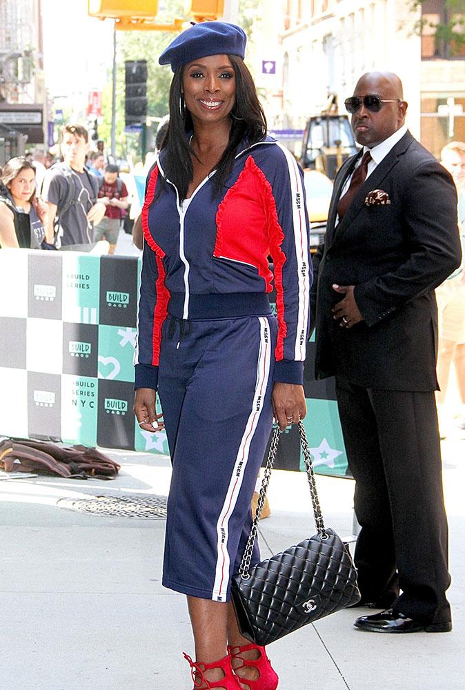 Tasha Smith Chanel Classic Flap Bag - PRACHTIGE NIEUWE STIJLEN VAN GUCCI, FENDI, EN ALEXANDER WANG DESIGNER TASSEN