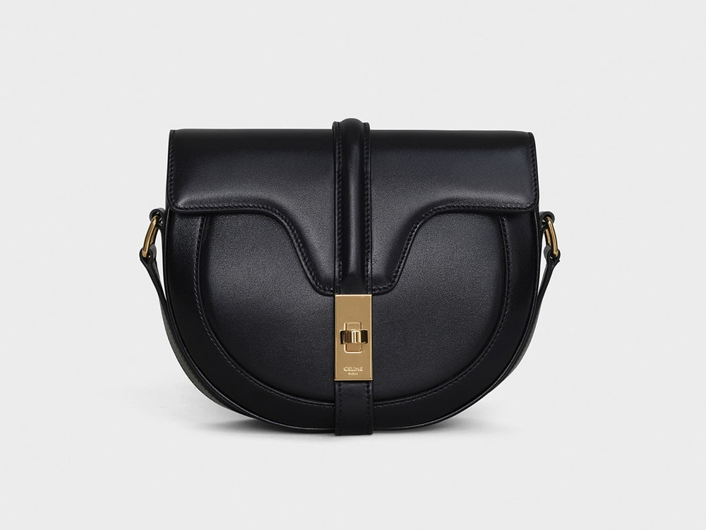 Purse Celine Leather Black