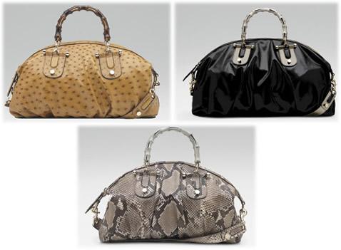 Gucci Pop Bamboo Handle Bag