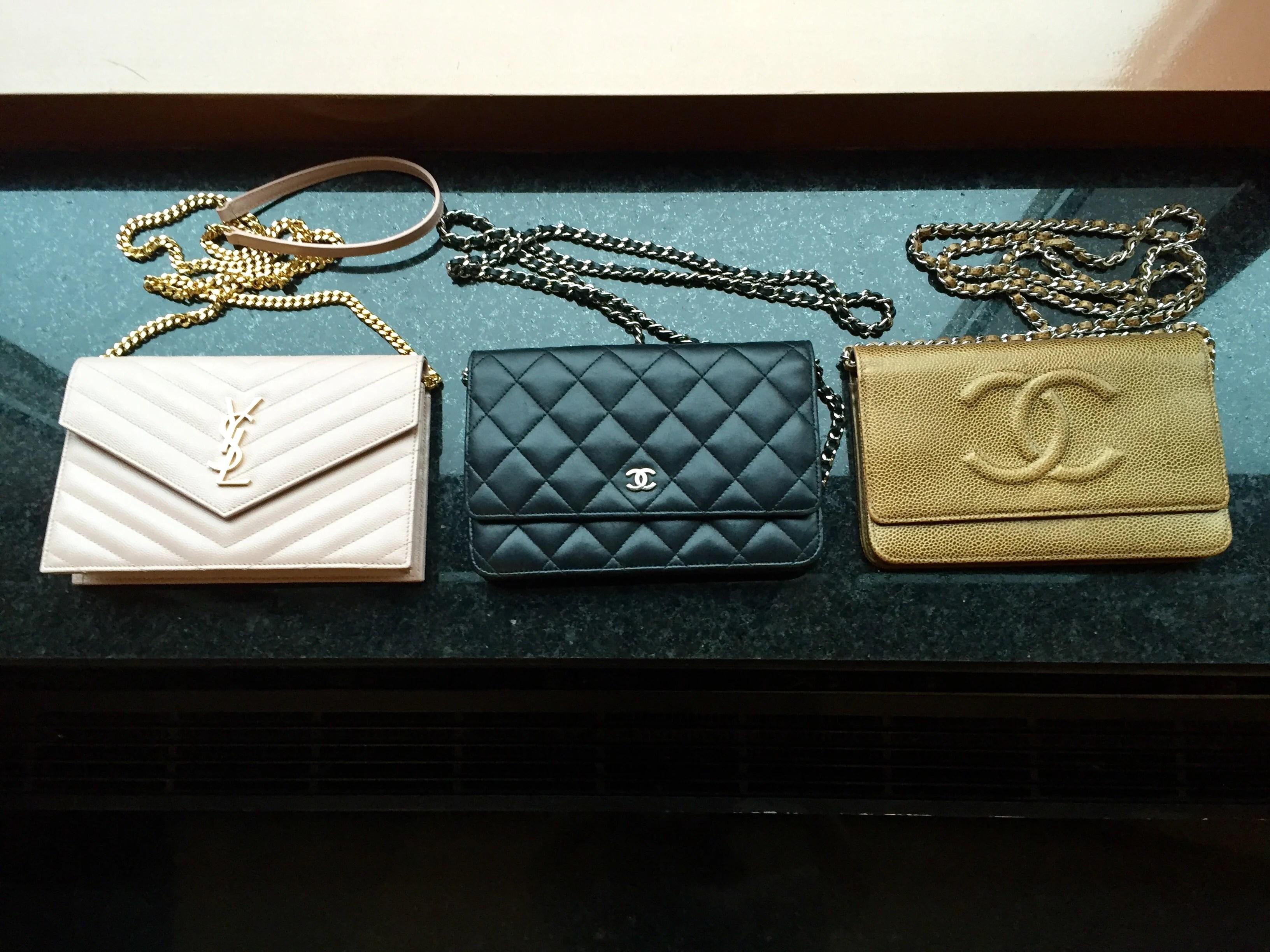Chanel Vs Ysl Wallet On Chain Comparison Woc Pursebop