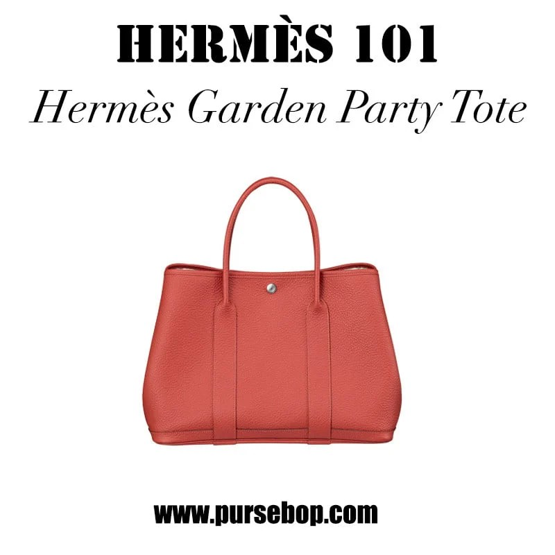 Hermes Handbag Unboxing (Garden Party 36 Etoupe color ...