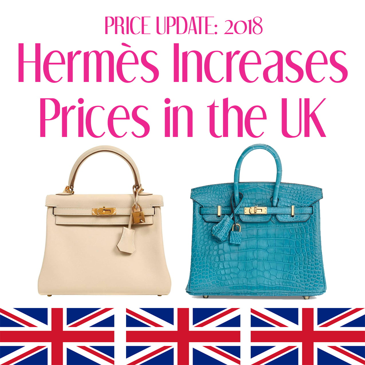 hermes prices 2018