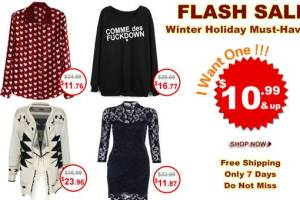 Romwe flash sale!