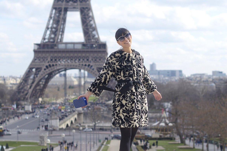 Paris Fashion Week day 4 & Una eco pelliccia bianca e nera