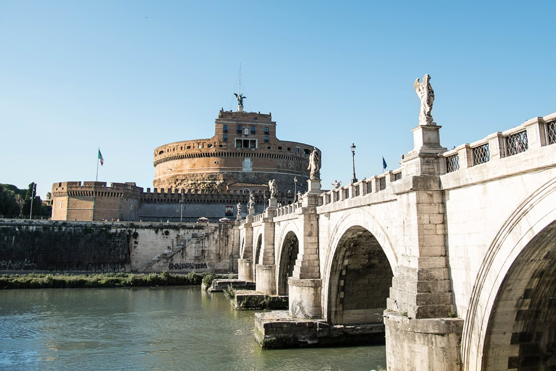 Laura Comolli a Castel Sant'Angelo - Cosa vedere a Roma in 3 giorni
