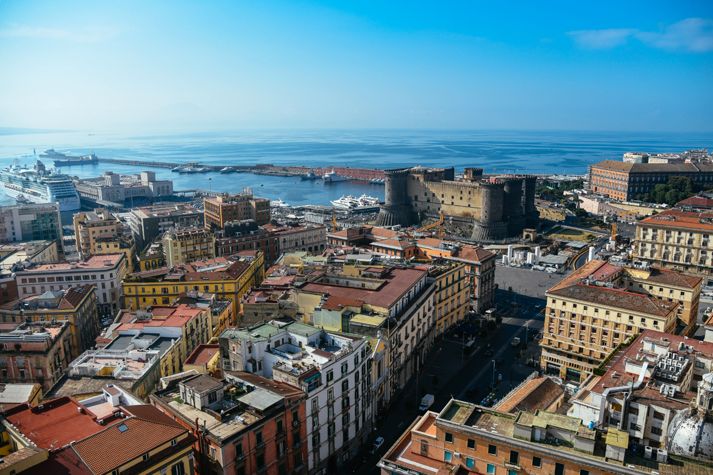 Vista su Napoli da NH Ambassador