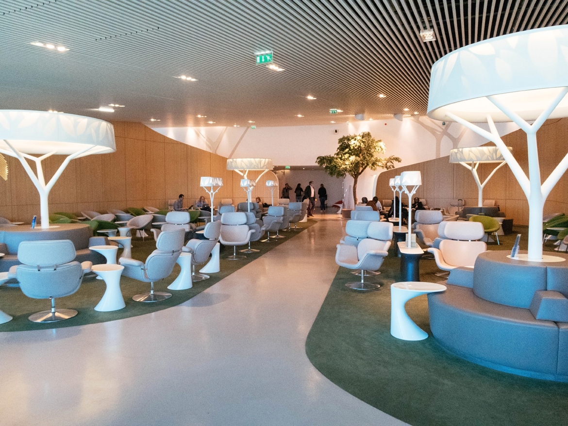 Lounge Air France - Paris Charles De Gaulle airport - ph. Laura Comolli