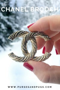 Chanel brooch. How to style a chanel brooch.