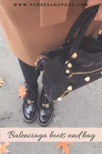 Balenciaga Ceinture cut out boots in black. Review of the Balenciaga cut out boots.