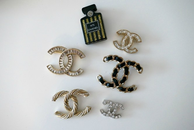chanel brooch, chanel brooches, chanel crystal brooch, Chanel brooch collection