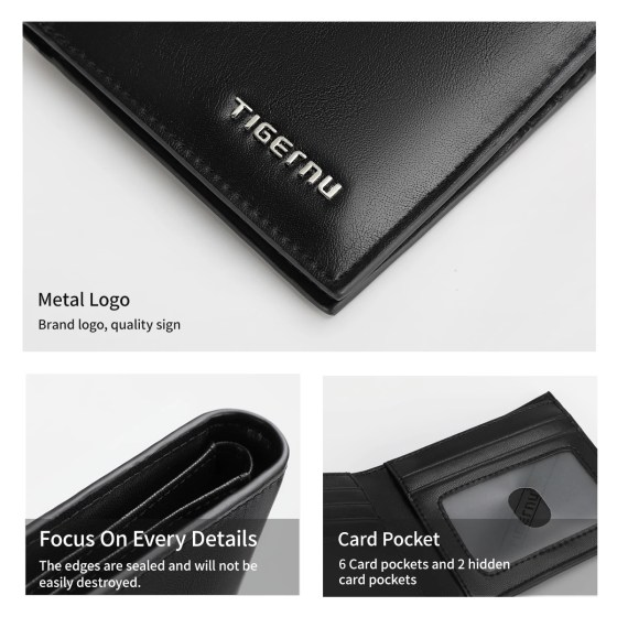 Fashion High Quality Wallets Thin Money Purse Business Card Holder Wallets
