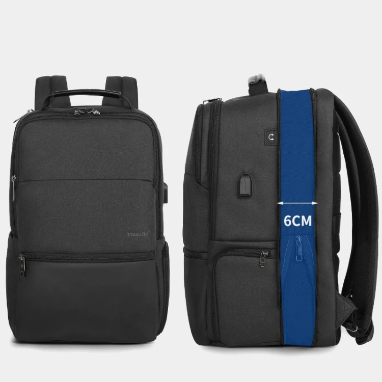 Fashion Travel Laptop Backpacks USB Charging Anti Theft Backpacks