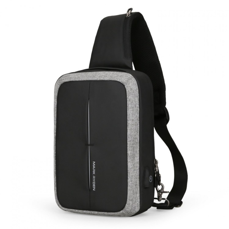 Fashion Chest Bag USB Recharging Design Mini Lockme II