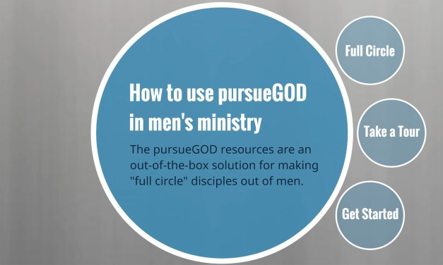 How to Use PG in Men's Ministry