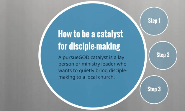 How to Be a Catalyst for Disciplemaking
