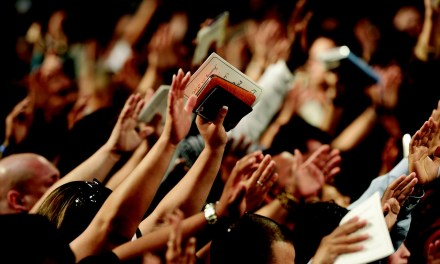 Create a Culture of Prayer from the Stage