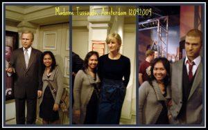 Patung Lilin  George Bush, Lady Diana dan  Justin Timberlake