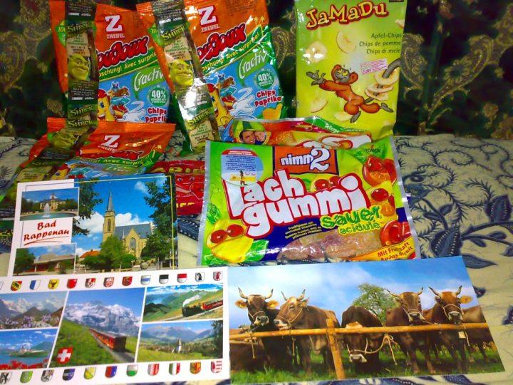 Akhirnya datang juga Paket dari Switzerland