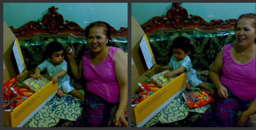 my lovely niece, Kiarra & my mother