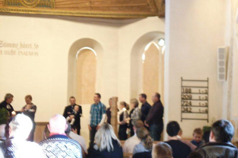 Gereja Reformierte Kirchgemeinde, Switzerland. Pembaptisan Anak