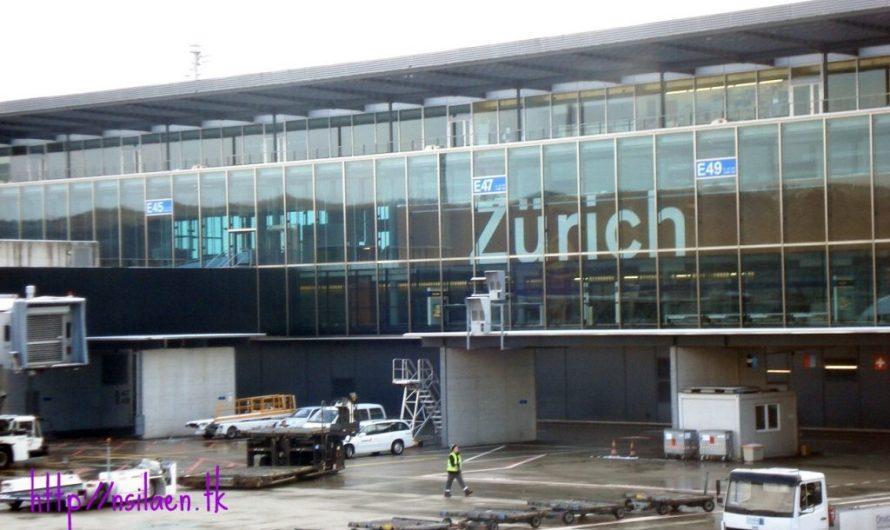 Tersesat di Bandara Zurich