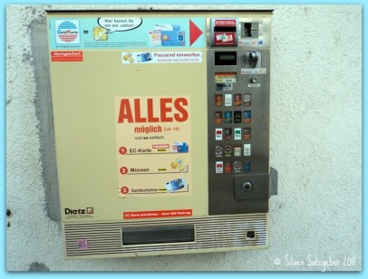 Cigarette Vending Machine in Germany