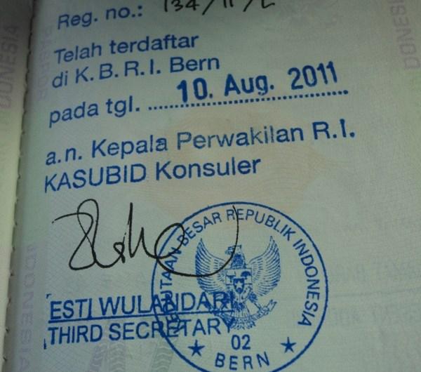 Legalisasi Akta Nikah Luar Negeri di KBRI