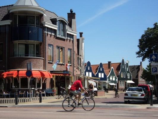 Kota Volendam Belanda