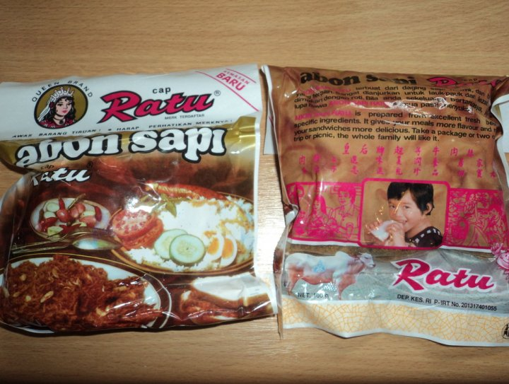 Abon Sapi Asli Indonesia 5 Euro 3 bungkus dari Tong tong fair Belanda