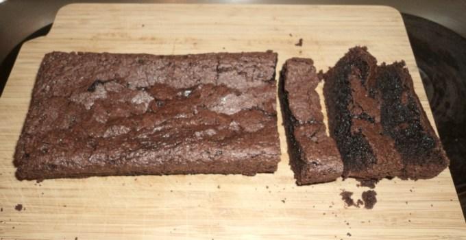 Brownies Panggang Buatan Tengah Malam