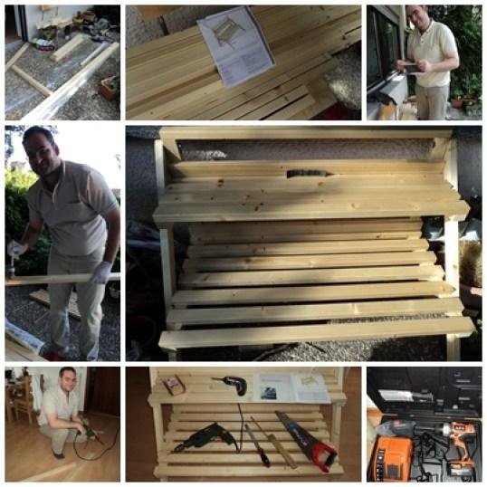 Foto-foto Bahan dan peralatan Pembuatan Rak Bunga (Foto: dok. pribadi)